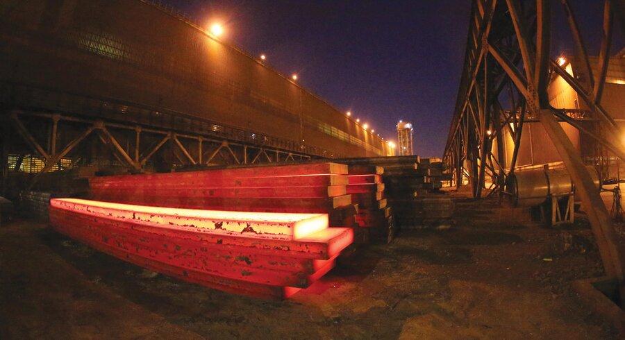 رکوردشکنی تولید تختال های گرید API   محیطهای نفت و گاز ترش و شیرین در فولاد مبارکه