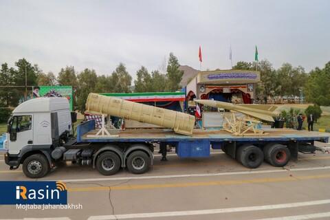 رژه موتوری و سواری به مناسبت روز ارتش در اصفهان