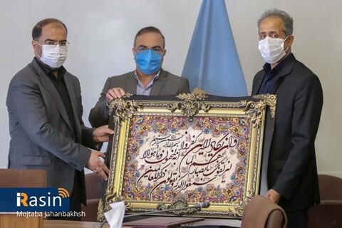 تقدیر از فولاد مبارکه و مجمع خیرین برای مشارکت در  احداث ساختمان جدید پزشکی قانون اصفهان