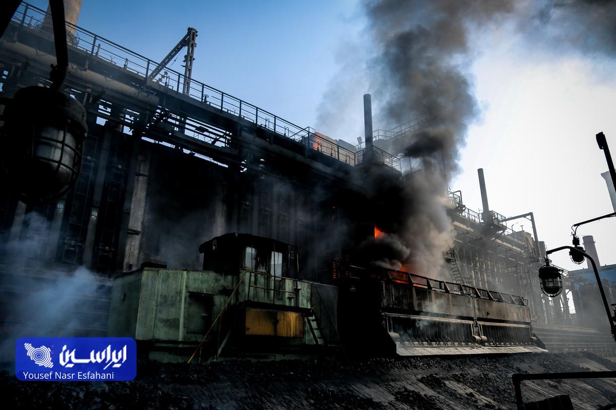 یک روز در کارخانه ذوبآهن اصفهان