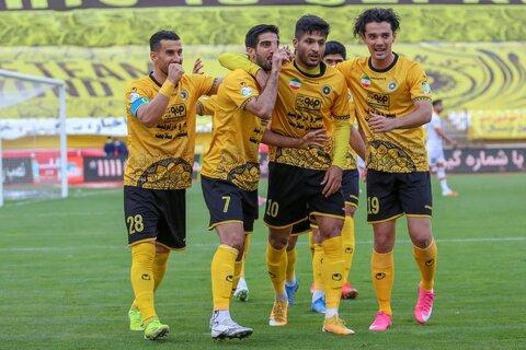برد شیرین سپاهان مقابل مس رفسنجان در هفته بیست و سوم لیگ برتر فوتبال ایران