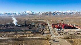 تولید ۲.۸ میلیون تن آهن اسفنجی در شرکت فولاد سفیددشت