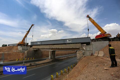 آیین افتتاح و بهره برداری اتصال پل ریلی جدید مجتمع فولاد سبا