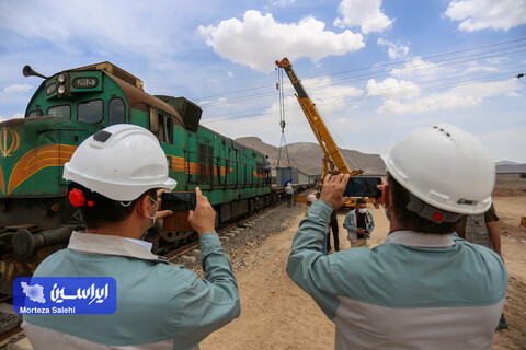 انعکاس آیین افتتاح و بهره برداری اتصال پل ریلی جدید مجتمع فولاد سبا