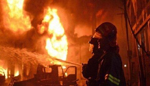 انفجار در کارخانه فولاد زرند کرمان + فیلم