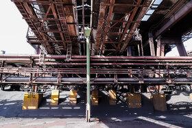 ساخت بیش از ۴۰ عدد شوت تخلیه مواد فاین از طبقات بالا به سطح زمین