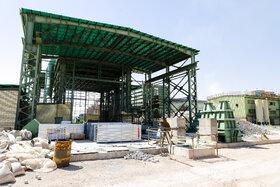 ساخت سالن مجهز سند بلاست ناحیه تعمیرگاه مرکزی و کنترل کامل غبار