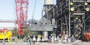 انجام موفقیتآمیز تعویض ترولی جرثقیل ۳۱۰ تنی مجتمع فولاد سبا