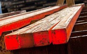 قیمت شمش فولاد افزایشی شد/ میلگرد ثابت ماند