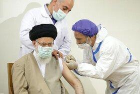 رهبر انقلاب امروز دوز نخست واکسن کرونا را دریافت کردند