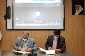 امضای تفاهمنامه سازمان زمینشناسی و اکتشافاتمعدنی کشور و شرکت دانشبنیان معنا