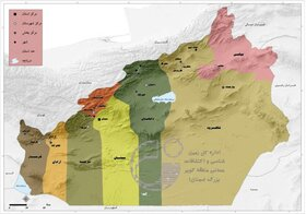 ۴۵ نقشه زمینشناسی یکصدهزارم استان سمنان تهیه شد