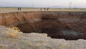وضعیت پدیده فرونشست زمین در کشور وخیم است