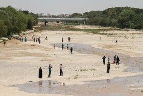 آب زاینده رود در گذر از نصف جهان