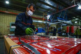 خط تولید شرکت برنا باتری