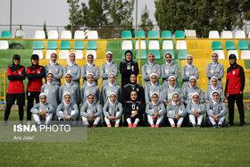 پیروزی تیم ملی فوتبال بانوان مقابل منتخب اصفهان