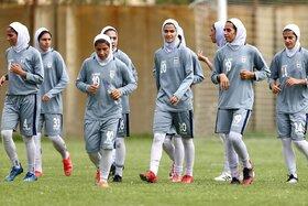 شکست دختران فوتبالی ایران مقابل ازبکستان
