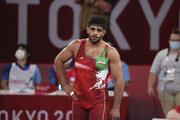 شکست ساروی مقابل الکسانیان/ کشتی فرنگی ایران همچنان در حسرت فینال