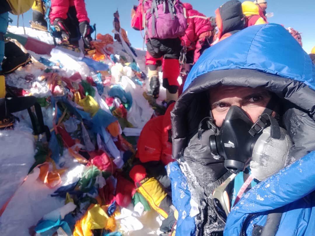 کوهنورد اصفهانی: به دنبال فتح بام هفت قاره جهان هستم