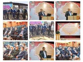 آیین کلنگزنی سه طرح عظیم شرکت فولاد خوزستان برگزار شد