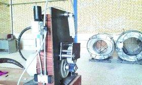 بومیسازی ماشین تزریق وایر در شرکت آتیهفولاد معدن پارسیان