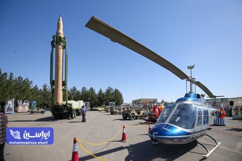"""آیین افتتاحیه نمایشگاه دفاع مقدس شرکت فولاد مبارکه با عنوان """"در مسیر ایستادگی"""""""