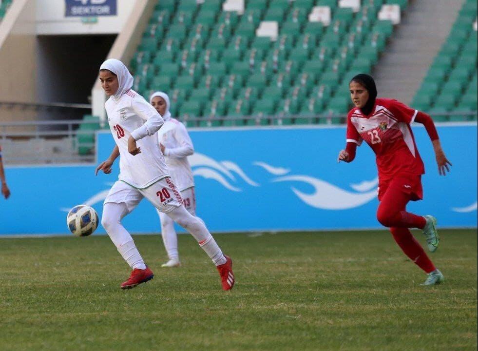 ایران صفر اردن صفر؛ سلام دختران ایران به جام ملتهای آسیا