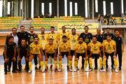 پیروزی طلاییپوشان در لیگ برتر فوتسال