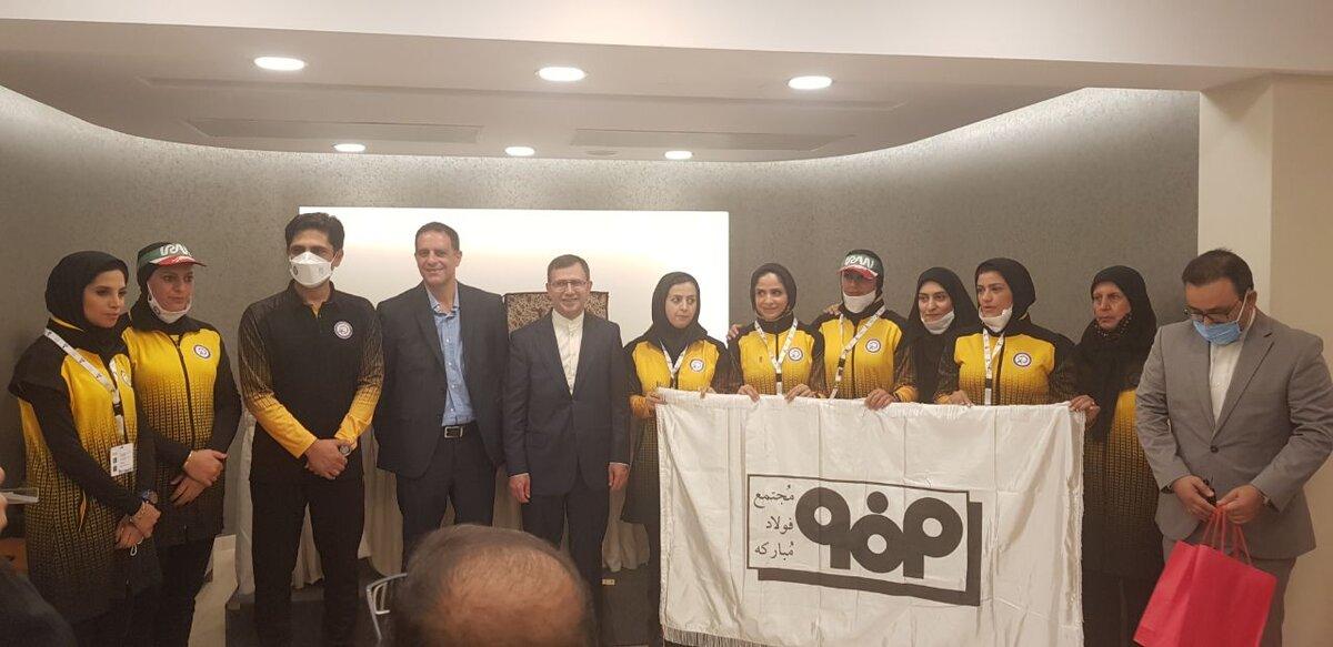 تقدیر سفیر ایران در یونان از فدراسیون ورزش کارگری و فولاد مبارکه