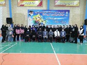مسابقات پارابدمینتون بانوان ایران به پایان رسید